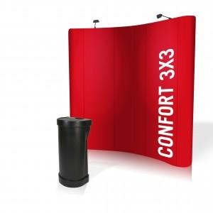 VISUEL Stand parapluie 3x3 confort
