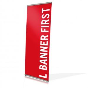 l banner first